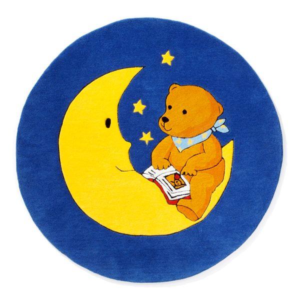 Kinderteppich- Der Mondbär, zum einschlafen und schöne Träume