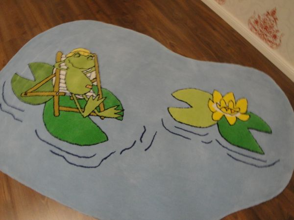Kinderteppich- Quaker, der Großmaul frosch 180 x 120 cm Gustav und seine Freunde