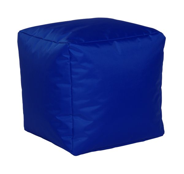 Sitzwürfel Nylon kobalt 40/40/40 cm