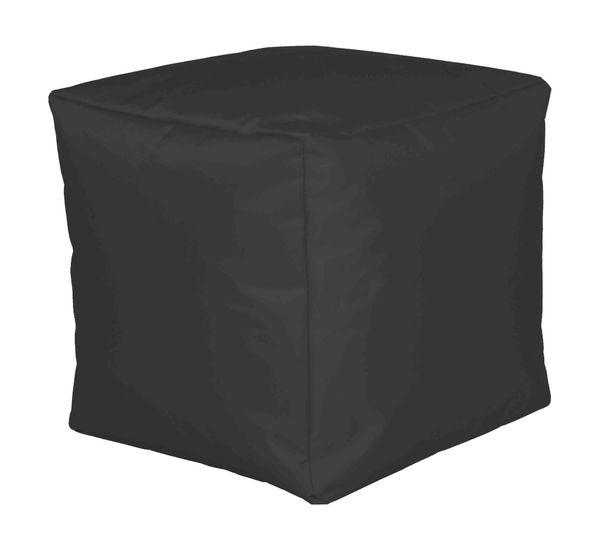 Sitzwürfel Nylon anthrazit 40/40/40 cm