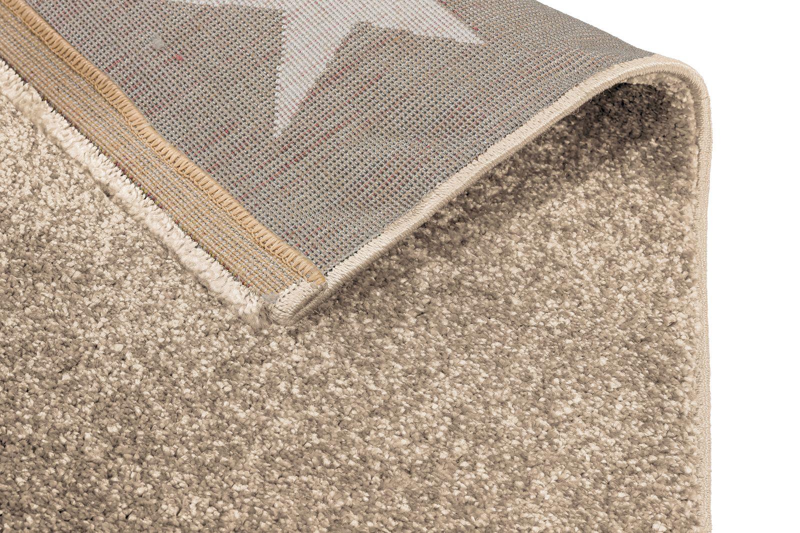 kinderteppich einhorn beige 80 x150 160 x 230 cm teppich spielzimmer kinderzimmer. Black Bedroom Furniture Sets. Home Design Ideas