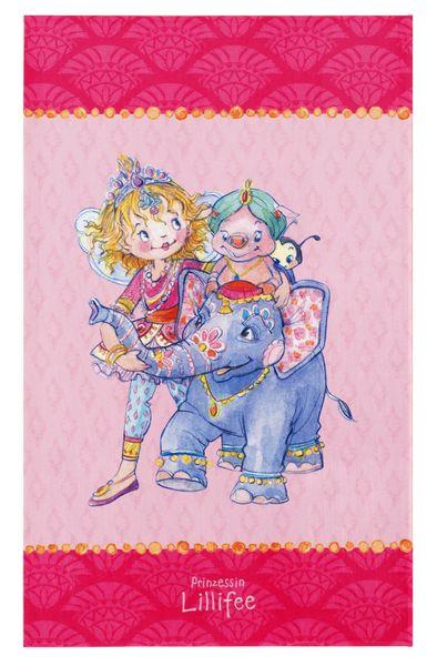 Kinderteppich- Die Prinzessin Lillifee in Indien, Zwei Größen Mädchen- Zimmer, Spielteppich