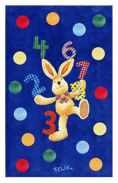 Kinderteppich-  FELiX Spiel und Lern Teppich, Spielen mit Zahlen, in Zwei Größen, Teppich