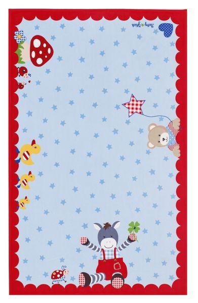 Kinderteppich- Baby Glück in Zwei Größen, Esel und seine Freunde Kinderzimmer, Baby