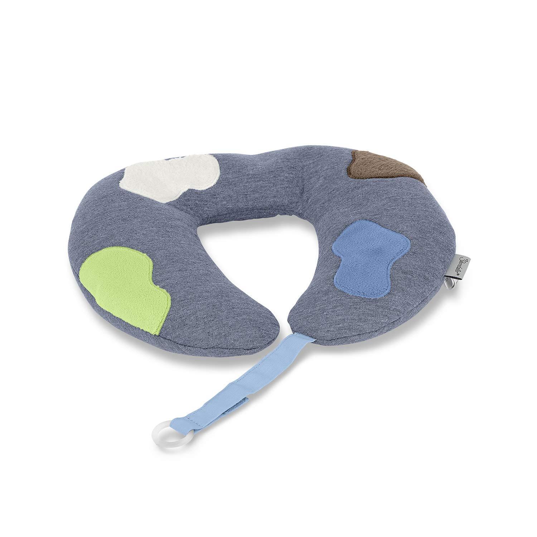 Sterntaler- Nackenstütze mit Schnullerkette Wieslinge Klecks, Für Babys ab 9+m