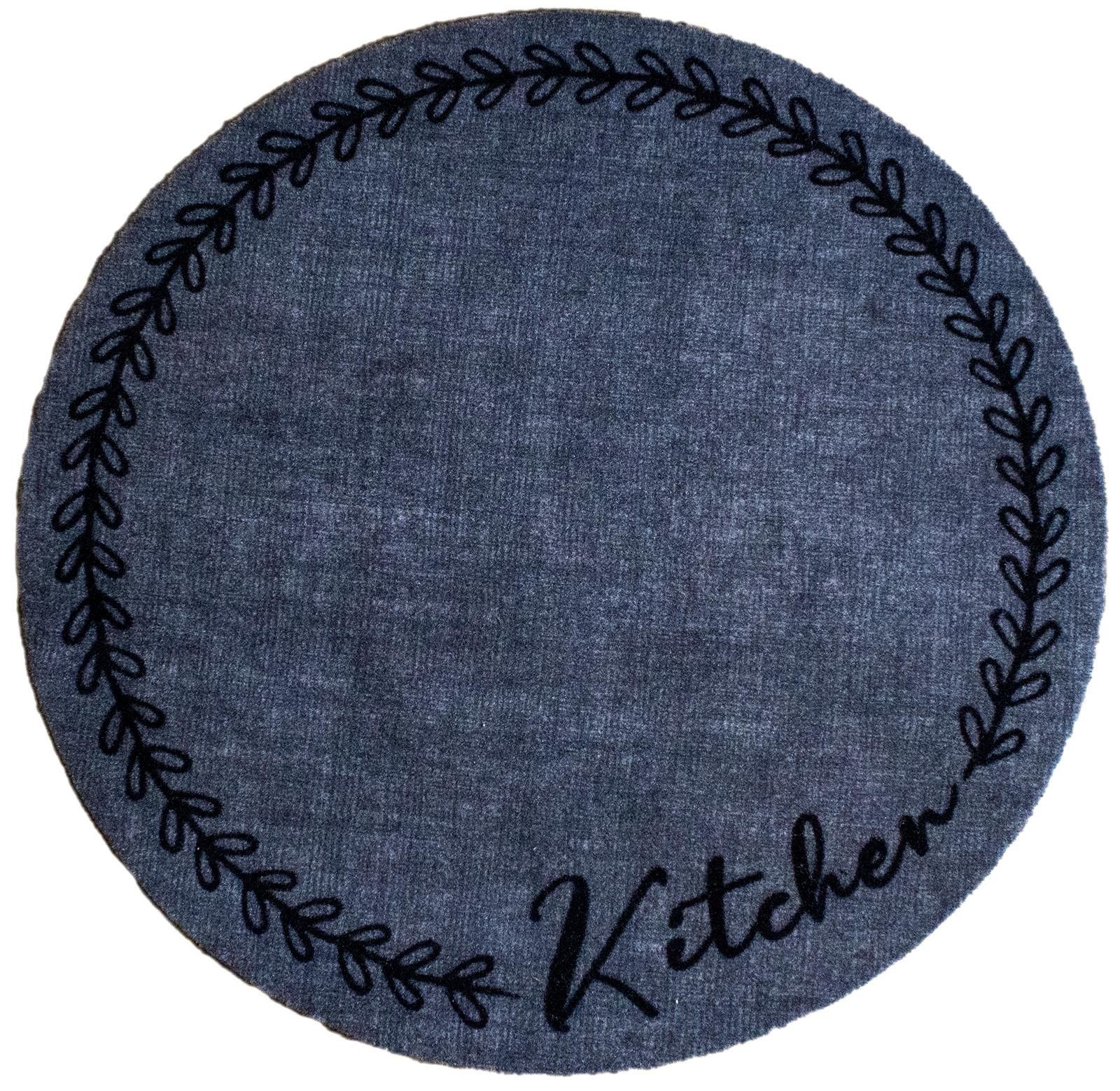 """Küchenteppich """"Kitchen"""" Rund 67 cm"""